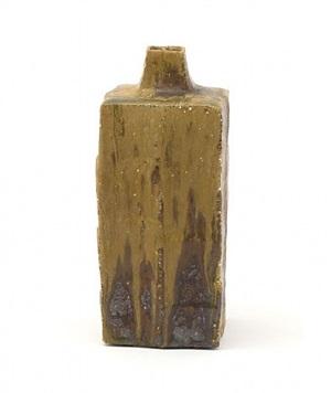 yohen square vase by ken matsuzaki