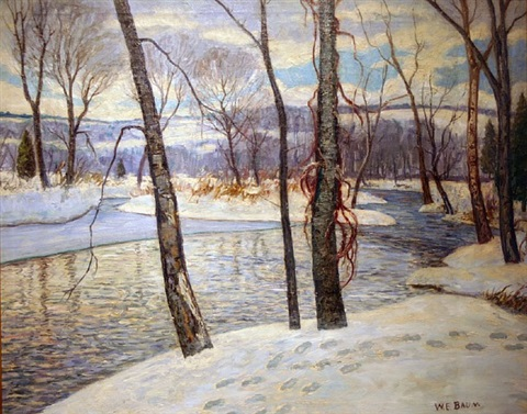 winter delaware by walter emerson baum