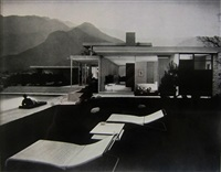 kaufmann house, palm springs (richard neutra, architect), circa 1940's by julius shulman