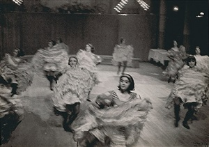 french cancan, moulin rouge, paris by ilse bing