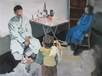 happy families are similar by xiao jiang