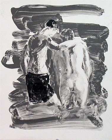 two bathers by eric fischl