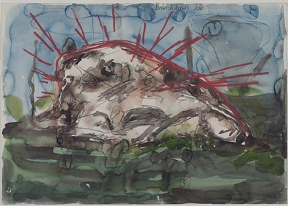 anselm kiefer drawings from the sonnabend collection by anselm kiefer