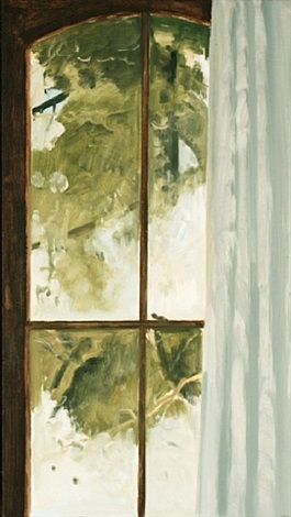 frosted window by lois dodd