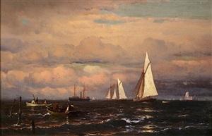 daybreak on the east coast by mauritz frederick hendrick de haas