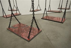 suspended by mona hatoum
