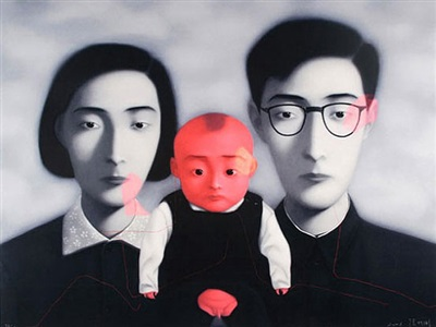 portal contemporary chinese paintings, prints, photos and sculpture by zhang xiaogang