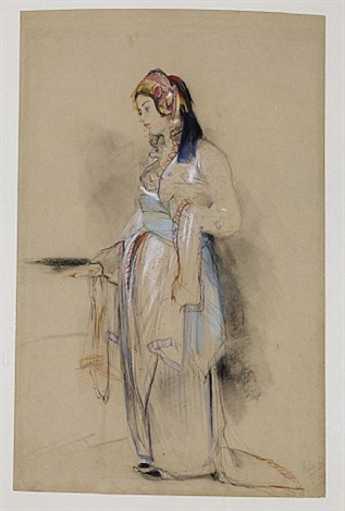 a young woman from bursa by john frederick lewis