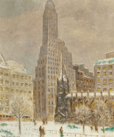 financial center by guy carleton wiggins