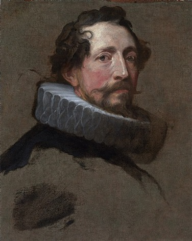 a study for the head of a magistrate of brussels<br>sold by sir anthony van dyck