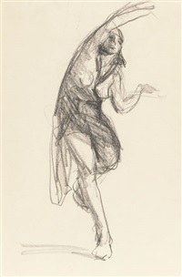 isadora duncan; at the opera (two works) by robert henri