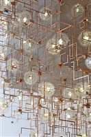 fragile future concrete chandelier (detail) by lonneke gordijn and ralph nauta