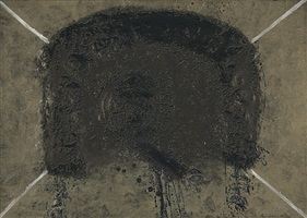 l'arc (der bogen) by antoni tàpies