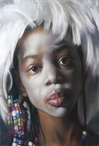 when you wish upon a star (the artist's wig) 2 by margaret bowland