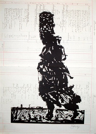 fire walker i by william kentridge