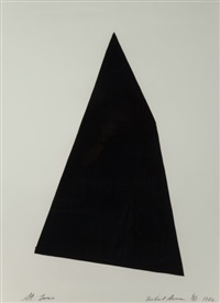 st. louis (from a portfolio of thirteen prints to commemorate the anthology film archives) by richard serra