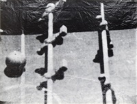 fernsehbild (kicker) by sigmar polke