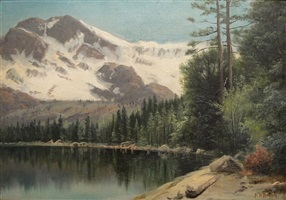 untitled (mountain lake) by henry howard bagg