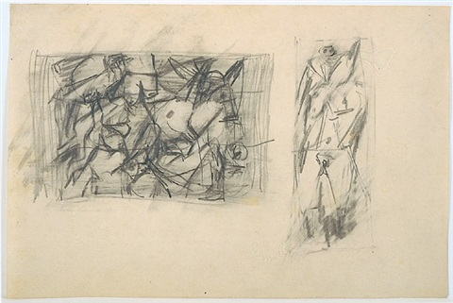 figure studies by jack tworkov