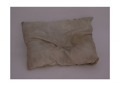 pillow by gavin turk