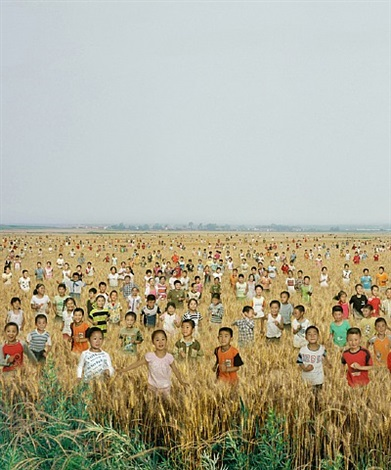 children in the rye (detail) by chi peng
