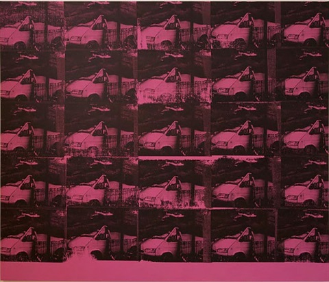 transit disaster pink by gavin turk