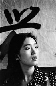 gong li, 1993 by marc riboud