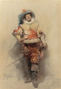 the cavalier by gustavo simoni