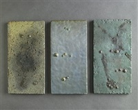 renato bassoli set of 3 tiles by renato bassoli