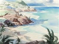 hawaiian shoreline by john pike