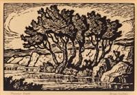kansas creek by birger sandzen