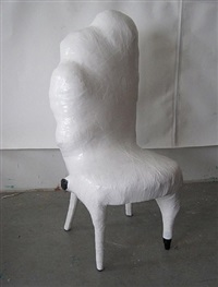 white chair by jerry mischak