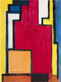 homeage to mondrian by thornton willis