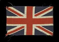union flag 3 (black) by peter blake