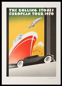 the rolling stones european tour  by john pasche