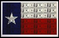 $100 texas flag by steven gagnon