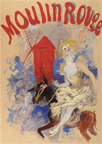 moulin rouge by jules chéret