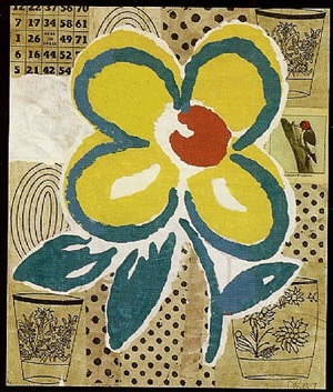 untitled (flowers) by donald baechler
