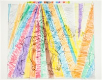 untitled (rainbow rider) by larry rivers