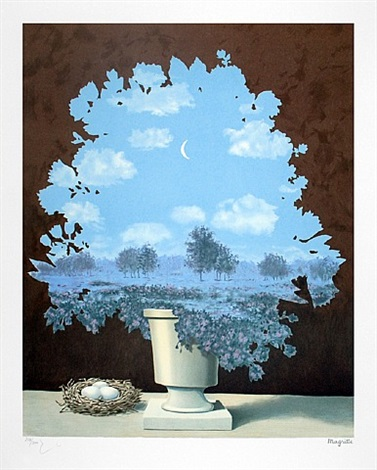 le pays des miracles (the country of marvels), series 2 by rené magritte