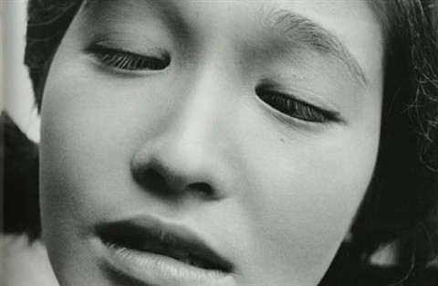 eiko oshima, actress in the film shiiku (prize stock) by shomei tomatsu