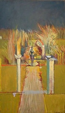 figure with path by graham sutherland