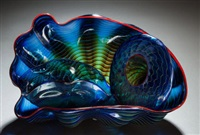 seaform group (set of 3) by dale chihuly