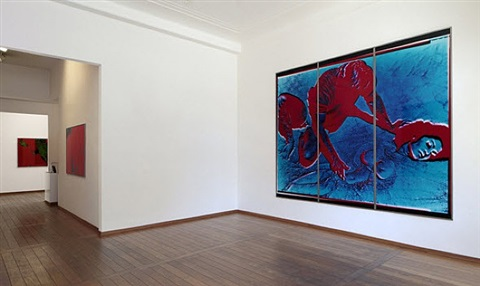 installation view by katharina sieverding