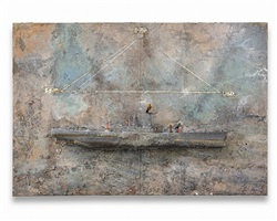 salz, merkur, sulfur by anselm kiefer