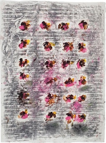 ode to monet #5 by jack whitten