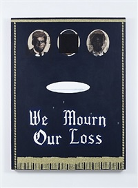 we mourn our loss #3 by kerry james marshall