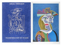 transformation de picasso by mihail chemiakin