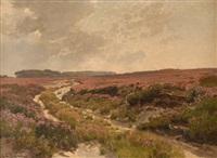 heidelandschaft by carl cowen schirm