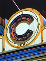 an american alphabet: c by robert cottingham